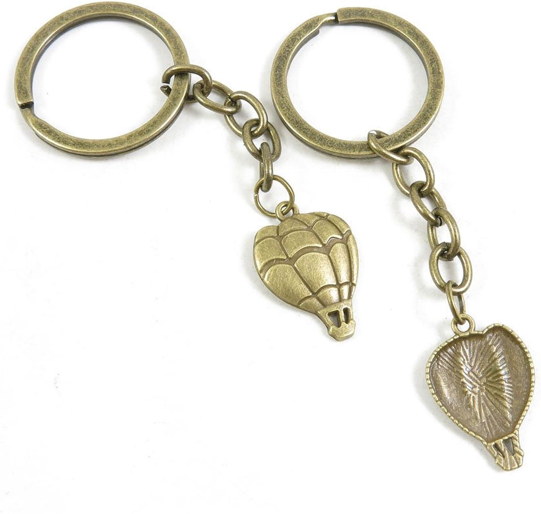 250 Pieces Fashion Jewelry Keyring Keychain Door Car Key Tag Ring Chain Supplier Supply Wholesale Bulk Lots R8SB3 Hot Air Balloon