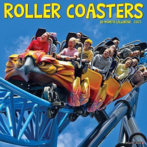 Preisvergleich Produktbild Roller Coasters 2021 Calendar