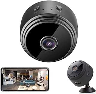WiFi Mini Hidden Spy Camera HD 1080P Wireless Portable Small Camera with Motion Detection and Night Version Home Security ...