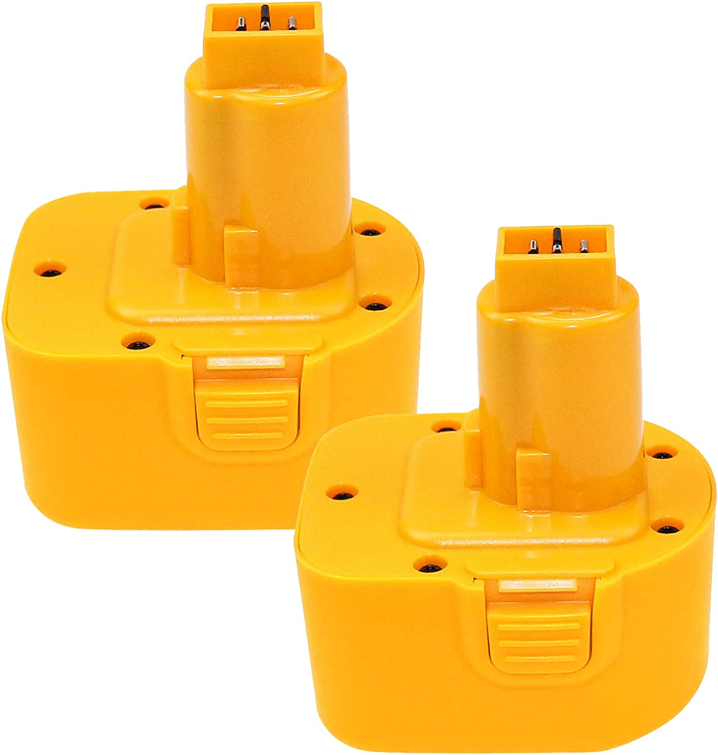 2 Packs 3.6Ah Replacement Battery with Bat Dewalt 定番キャンバス Compatible 12V 信用