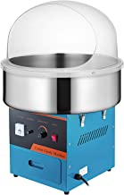 VBENLEM 20.5 Inch Commercial Cotton Candy Machine with Cover Electric Candy Floss Maker..