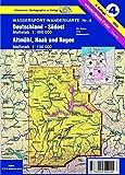 Wassersport-Wanderkarte / Kanu-und Rudersportgewässer: Wassersport-Wanderkarte / Deutschland Südost mit Altmühl, Naab und Regen für Kanu- und ... Regen 1 : 100 000. Für Kanu- und Rudersport