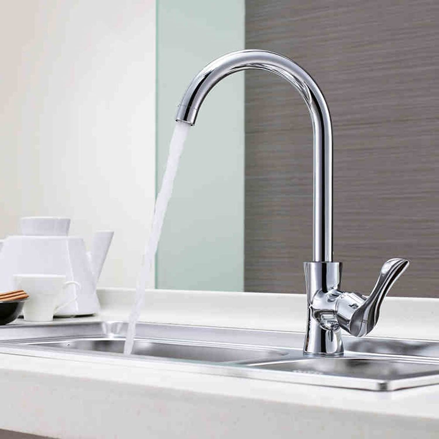 Sun LL All Bronze Kitchen Faucet Caipen Faucet Sink With Hot And Cold Water Faucet Hose