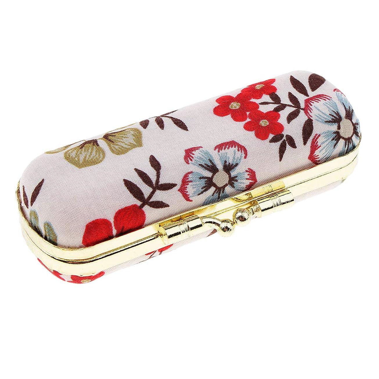 魅了するどういたしまして危険を冒しますT TOOYFUL 口紅 収納用ケース 収納ボックス 鏡付き リップグロスケース リップスティック 全7タイプ - レトロE