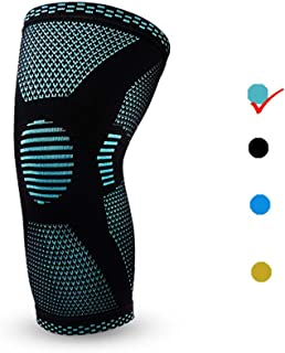 Randell Knee Brace Support for Men and Women,Knee Compression Sleeve for Sports,Knee Support for Athletics,Running,Basketball,Football,Gym,Weightlifting,Meniscus Tear,ACL,Arthritis