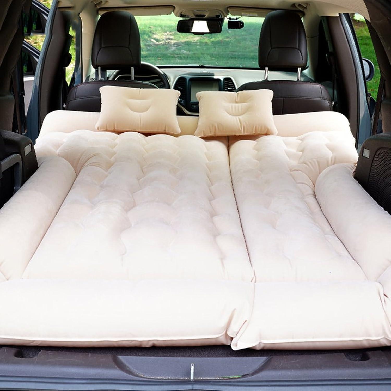 XYLUCKY Hochleistungsauto-Reise-Aufblasbares Matratzen-Auto-Aufblasbares Bett SUV-Rücksitz Verlängerte Matratze Matratze Matratze mit Autoluftpumpe und Zwei Luftkissen B07FJVH6T6  Überlegene Qualität 7f8621