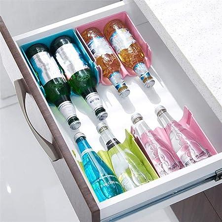 Soporte para botellas apilable para frigor/ífico de pl/ástico Didatecar