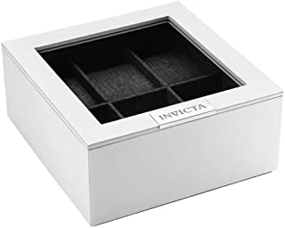Invicta 6-Slot Stackable Watch Display Case with Lid