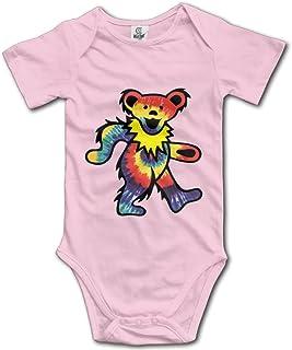 cbd5c724d LADOLADO Rock The Grateful Dead Dancing Bear Baby Onesie Infant T Shirt