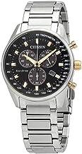 Citizen AT2396-78E Men's Eco-Drive Black Dial Bracelet Watch