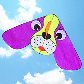 Individuality Kite, Kids Kite Kites For Kids Easy To Fly With Outdoor Sports 10pcs/lot Large Ear Dog Kite beginner (Color ...