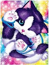 5D Diamond Painting Complete set kat cartoon DIY kit diamant voor kinderen volwassenen canvas borduurwerk strass kruisstee...