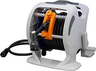 【Amazon.co.jp限定】WATER GEAR(ウォーターギア) ホース ホースリール マーキュリーツイスター 25m RT325WG 巻き取りガイド付き 安心の2年間保証