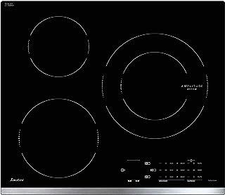 Sauter SPI4360X - Plaque à induction - Encastrable - 3 Foyers - 7200W - L60 x P52cm - Revêtement verre - Inox - Fabricatio...
