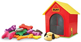 """Learning Resources LER9079 Ruff's House Teaching Tactile Set,Multicolor,5"""" x 5"""" x 5"""" (doghouse); 2 inche"""