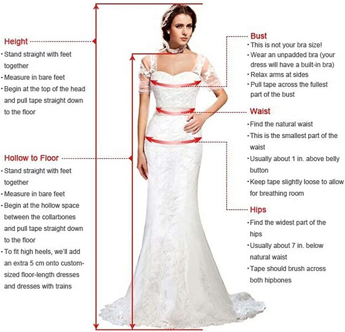 Andybridal Women's Vintage High Low Double V Neck Ruched Layers Chiffon Prom Bridesmaid Dress
