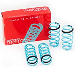 Godspeed LS-TS-MA-0010 Traction-S Performance Lowering Springs, Reduce Body Roll, Improved Handling, Set of 4