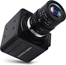 SVPRO 4K Ultra HD Webcam 5X Optical Zoom Camera with 2.8-12mm Variable Lens USB Web Camera 3840x2160@30fps UHD USB with Ca...