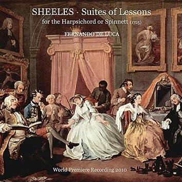John Sheeles - Suites of Lessons for the Harpsichord or Spinnett (1725)