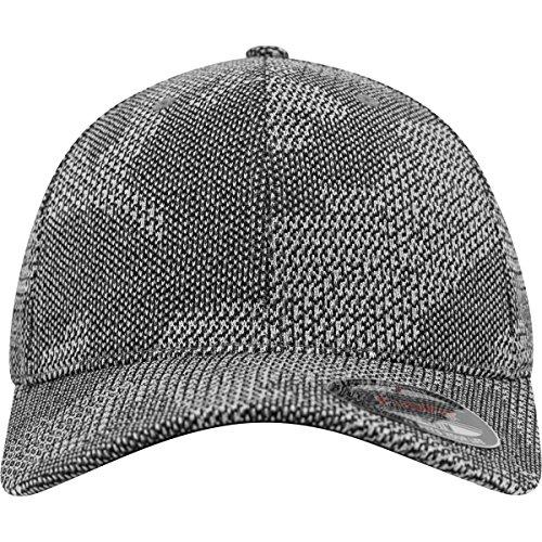 Flexfit Jacquard Knit Caps, Grey, S/M