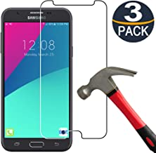 [3 Pack] Samsung J7 Screen Protector(Only fit The 2017 Released Version), [9H Hardness] Tempered Glass Film for Samsung Galaxy J7 2017/J7 V/j7 Prime 2017 [Ultra Clear][Anti Scratch]