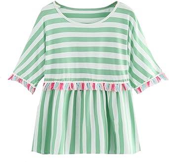Ronamick Camisetas Vogue Mujer Comfortable Blusa Terciopelo ...