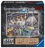 Ravensburger EXIT Puzzle 16484 - Spielzeugfabrik - 368 Teile Puzzle für Erwachsene und Kinder ab 12 Jahren