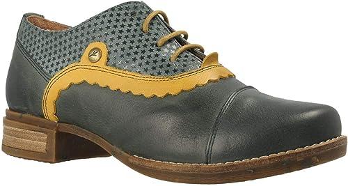 Zapato WANDA PANDA Velvet Grün-66 Grün.