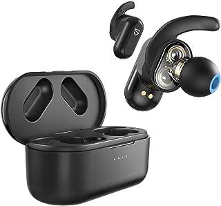 SoundPEATS True Wireless Earbuds,Truengine2 Bluetooth Wireless Headphone with Dual Dynamic Drivers & Built-in Mic,IPX5 Blu...