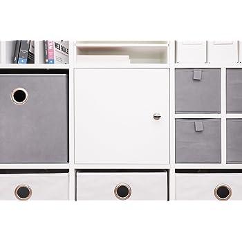 INWONA Abschließbare Tür für IKEA Kallax Regal Schließsystem