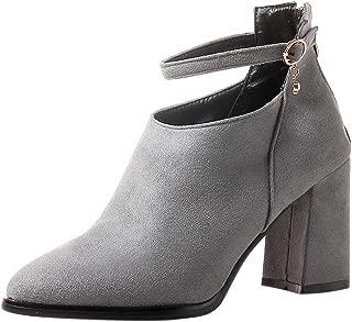 KemeKiss Women Classic Block Heels Autumn Boots