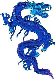 Application Royal Blue Dragon Patch