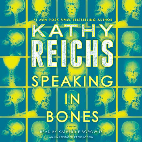 Speaking in Bones audiobook cover art
