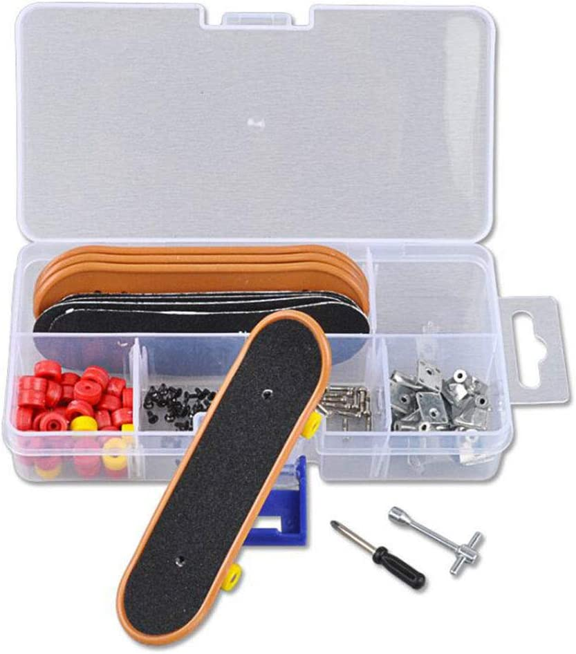 New mail order WANGFUFU Plastic Mini Finger Skating Board Max 74% OFF Game Table Kids C Toy
