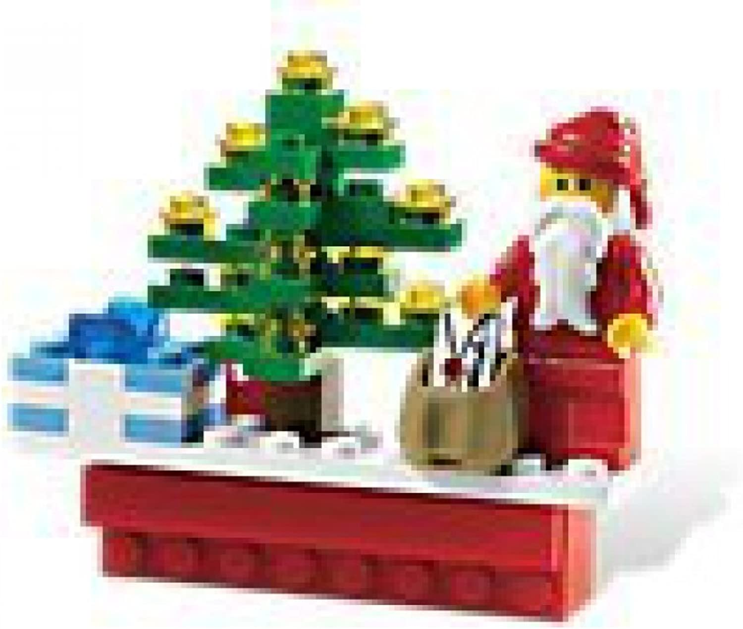 Lego Holiday Christmas Scene Magnet 853353