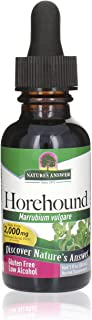 Nature's Answer Horehound Herb Drops with Organic Alcohol, 1-Fluid Ounce | Respiratory Support | Promotes H...
