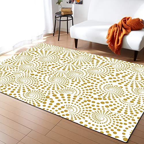 Robuster Teppich Europäisches Klassischer Stil Zu Hause Eingerichteten Wohnzimmer Sofa Schlafzimmerteppich Einfach zu Vergleichen (Farbe : 2, Size : 121.9cmx182.9cm)