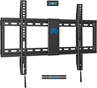 "Mounting Dream TV Mount Fixed for Most 42-70 Inch Flat Screen TVs , TV Wall Mount Bracket up to VESA 600 x 400mm and 132 lbs - Fits 16""/18""/24"" Studs - Low Profile and Space Saving MD2163-K"