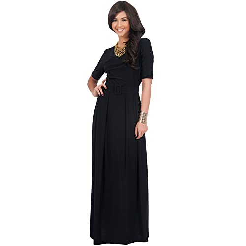 Vintage Black Dress Floor Length Amazon