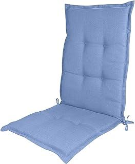 Cojines para sillas de jardín Cojines de Respaldo bajo Cojines de Respaldo Alto Cojines de Relleno de núcleo de Esponja Antideslizantes Los Cojines de Silla Son Especialmente cómodos