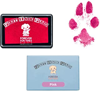 Forever Fun Times Easy-Clean Pet Paw Print Kit | Get Hundreds of Prints from One Low-Cost Paw Print Kit | 100% Safe and Pet-Friendly | No-Mess Paw Print Pad with a Choice of Three