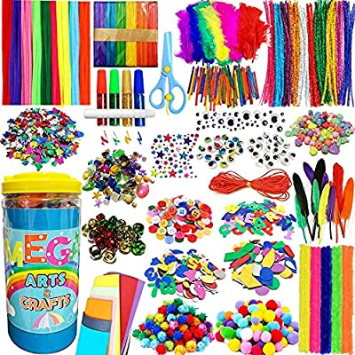 PANSHAN Mega Kids Crafts Kit and Art Supplies J...