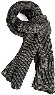 comprar comparacion VICSPORT Bufanda cálida del otoño y del invierno, Unisex Cuello puro del invierno del color Bufanda caliente del hilado qu...