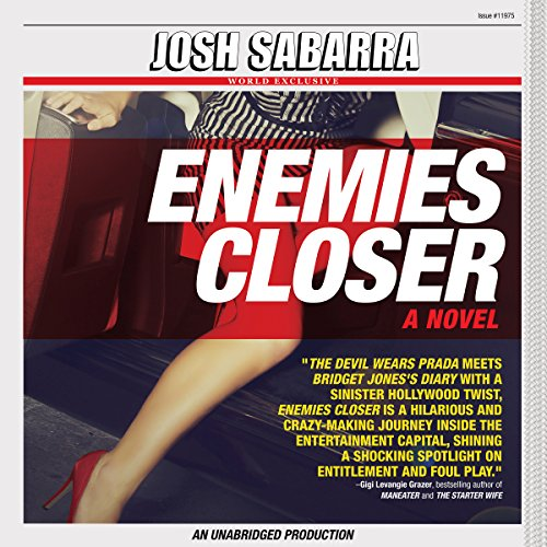 Enemies Closer audiobook cover art