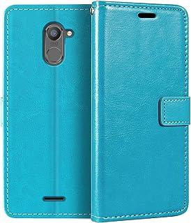 جراب محفظة Infinix Hot 4 X557، جراب قلاب مغناطيسي من الجلد الصناعي الممتاز مع حامل بطاقة ومسند لـ Infinix Hot 4 Pro X5511