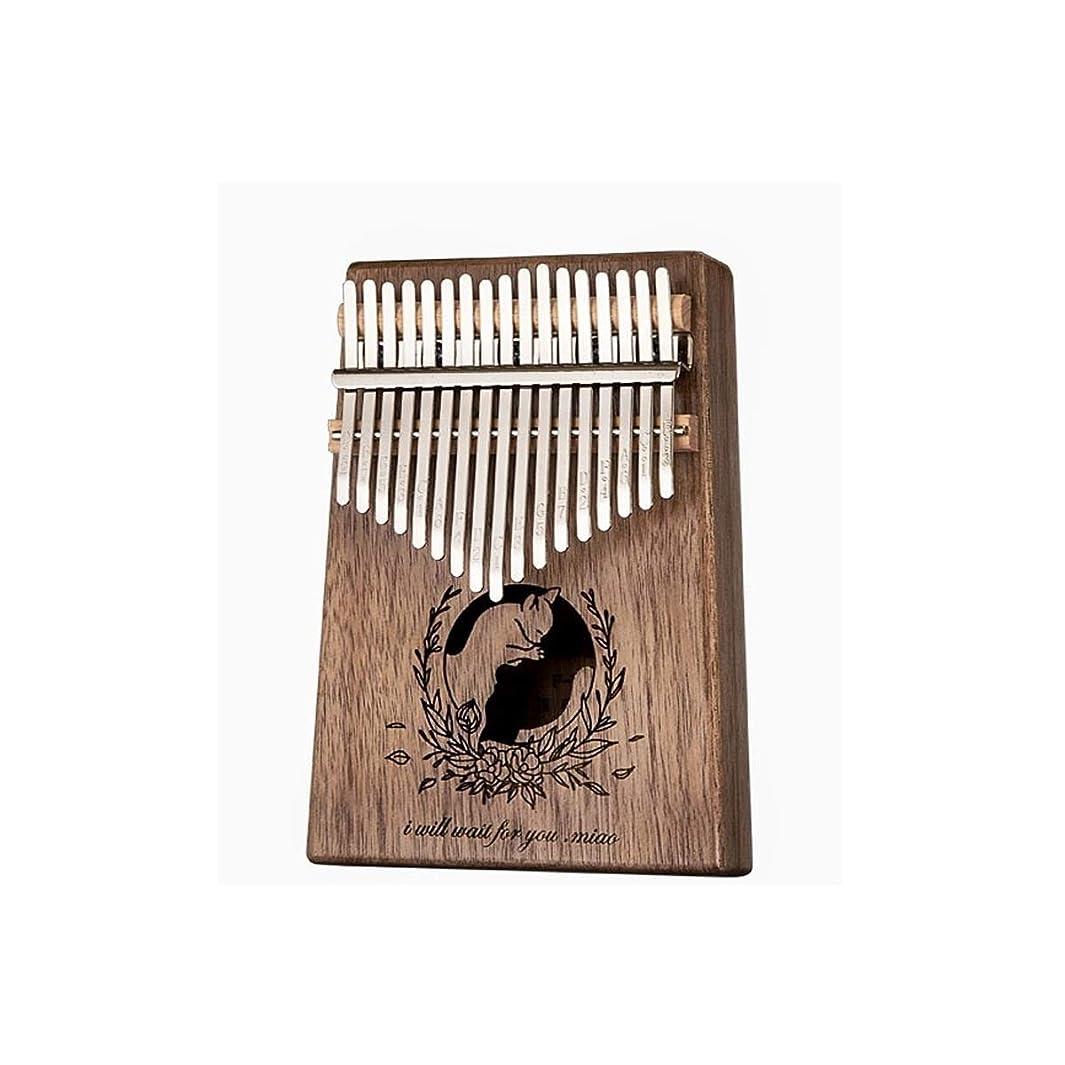 蒸気無法者広範囲にレトロカリンバサムピアノ17サウンドピアノ初心者エントリカリンバカリンバピアノフィンガーピアノ、最高の贈り物 (Color : B)