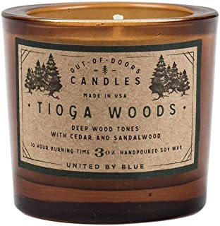 United By Blue - 3 oz. Tioga Woods Out-of-Doors Candle