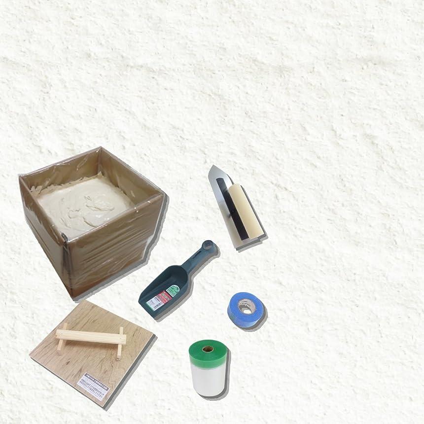 キリスト提案構成員珪藻土塗り壁材「ネリード」ビギナーズセット ホワイト