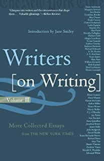 Writers on Writing, Volume II: More Collected Essays from The New York Times (Writers on Writing (Times Books Paperback))