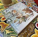 Papier Servietten Lunch Fest Party ca 33x33cm Herbst Autumn Weihnachten Winter Picture - 2